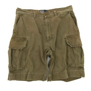 Polo Ralph Lauren Army Green Chino Cargo Shorts
